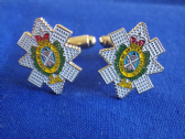 BLACK WATCH  ( 3rd BATTLION, ROYAL REGIMENT OF SCOTLAND ) (3 SCOTS)CUFF LINKS